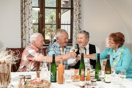 Aufenthaltsraum Pension Gästehaus Heller