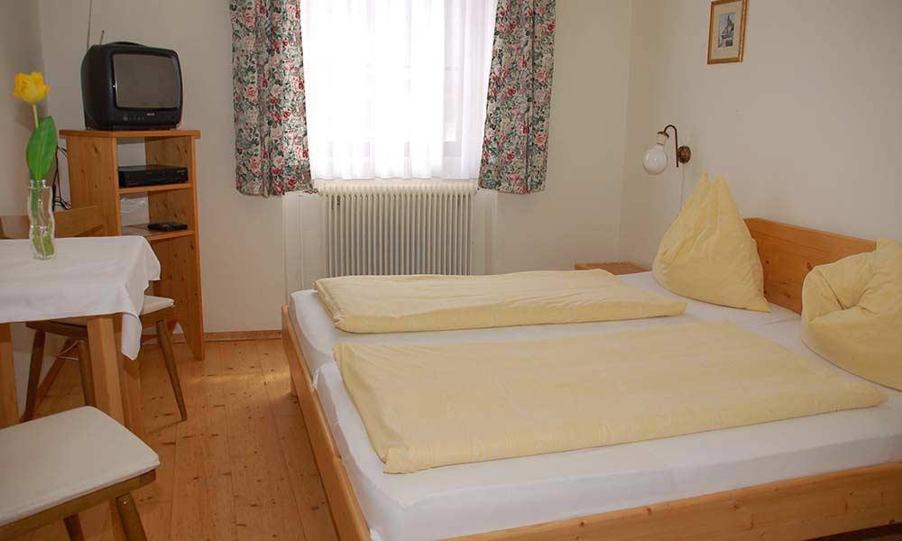 Doppelzimmer Pension Gästehaus Heller