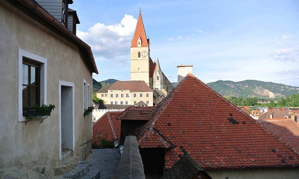 Auf der Burg Wehrkirche Volksschule