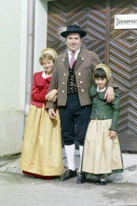 Franz Heller mit Annemarie Heller und Martina